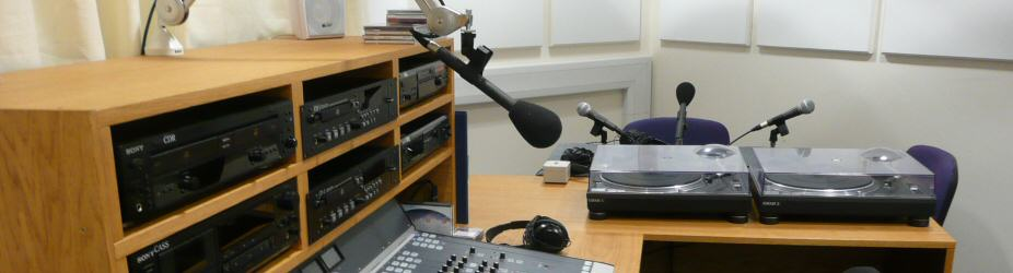Soundwaves Radio studio